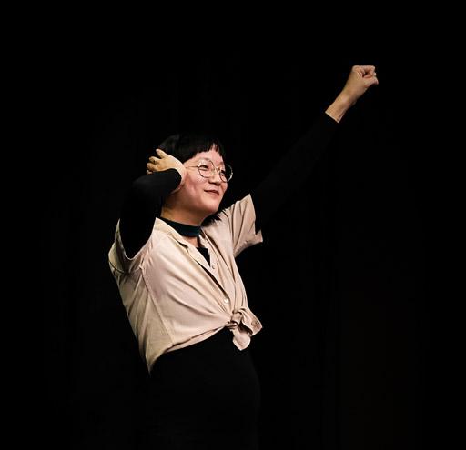 Christine Sun Kim during Design Talk