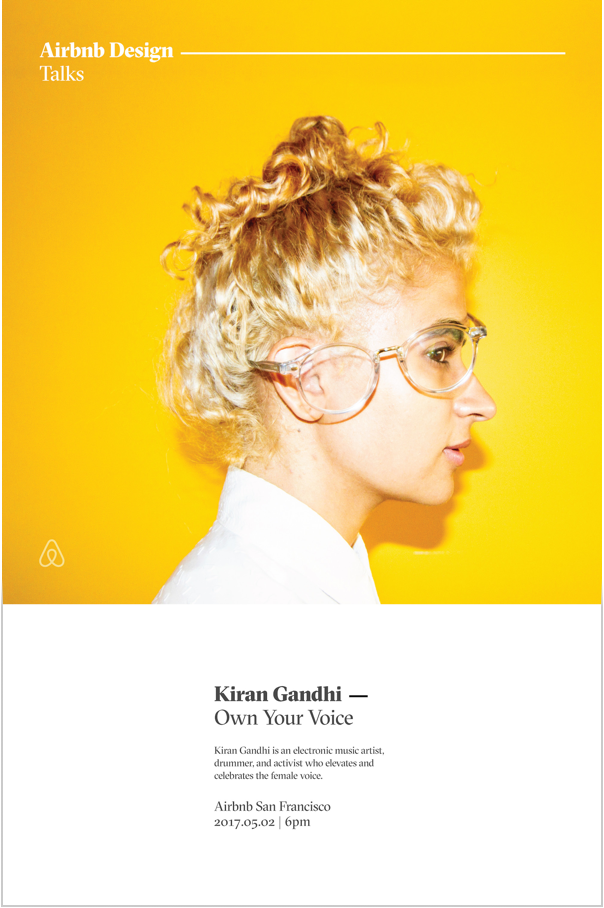 Kiran Gandhi Poster