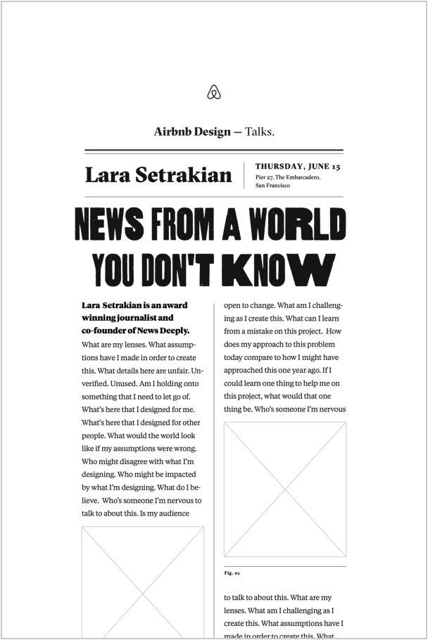 Lara Setrakian Poster