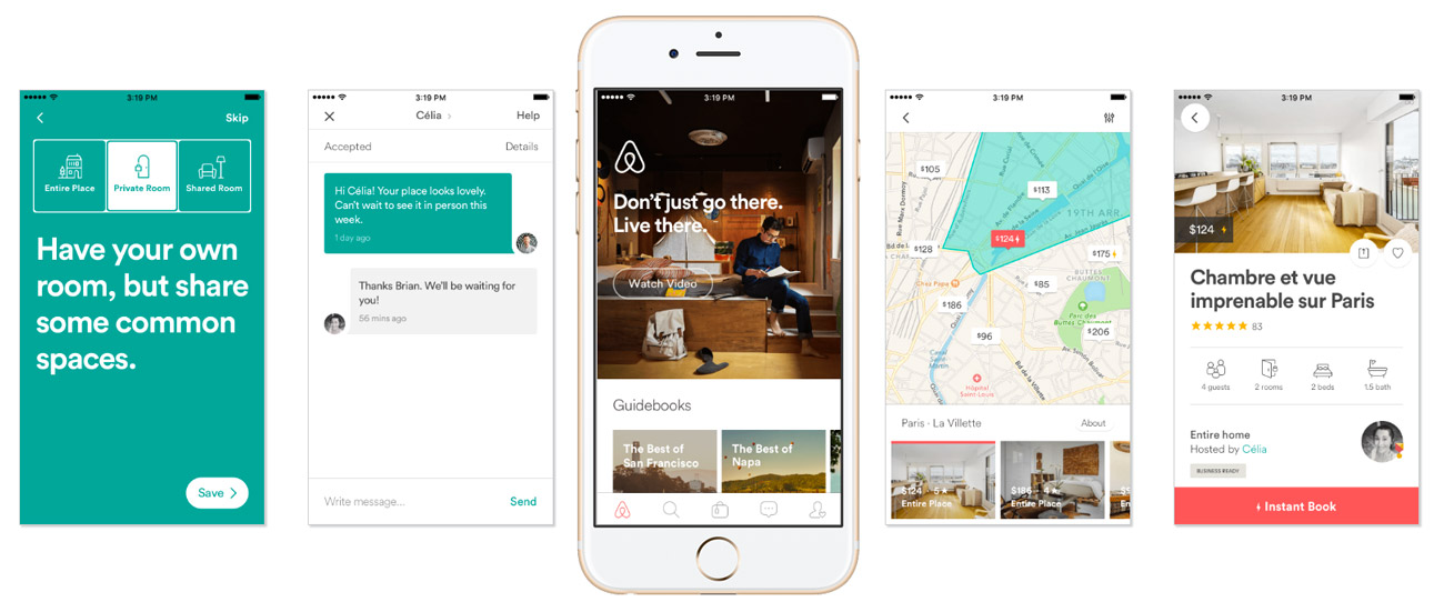 Building A Visual Language Airbnb Design