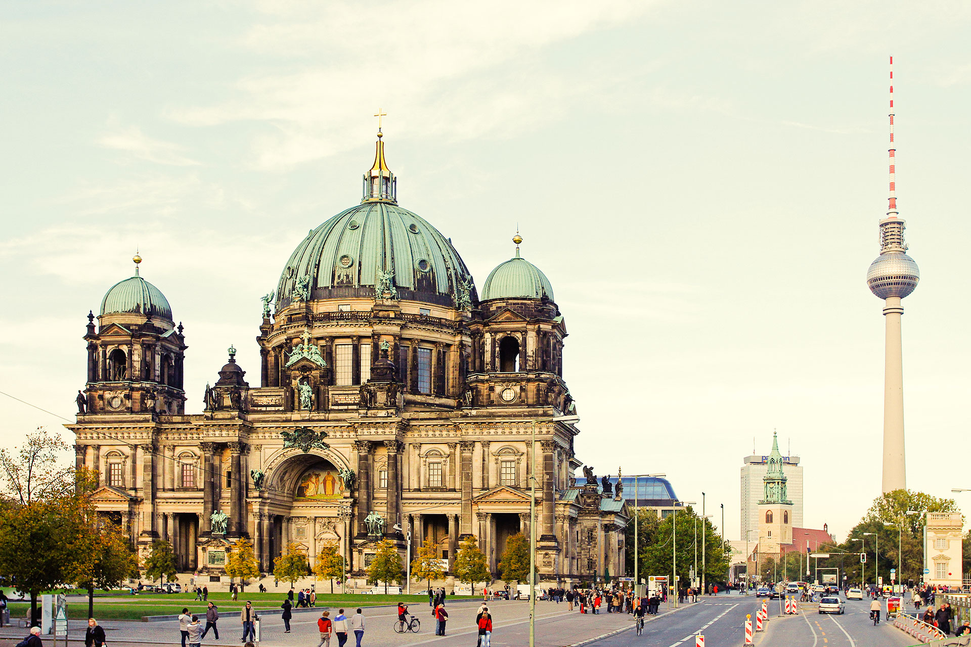 The Berlin Cathedral.