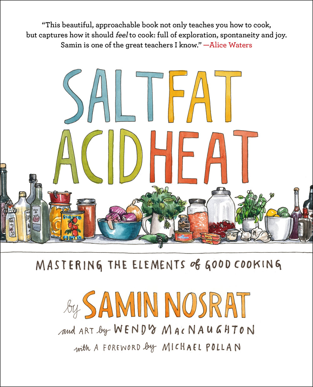 Cover of Book Salt Fat Acid Heat