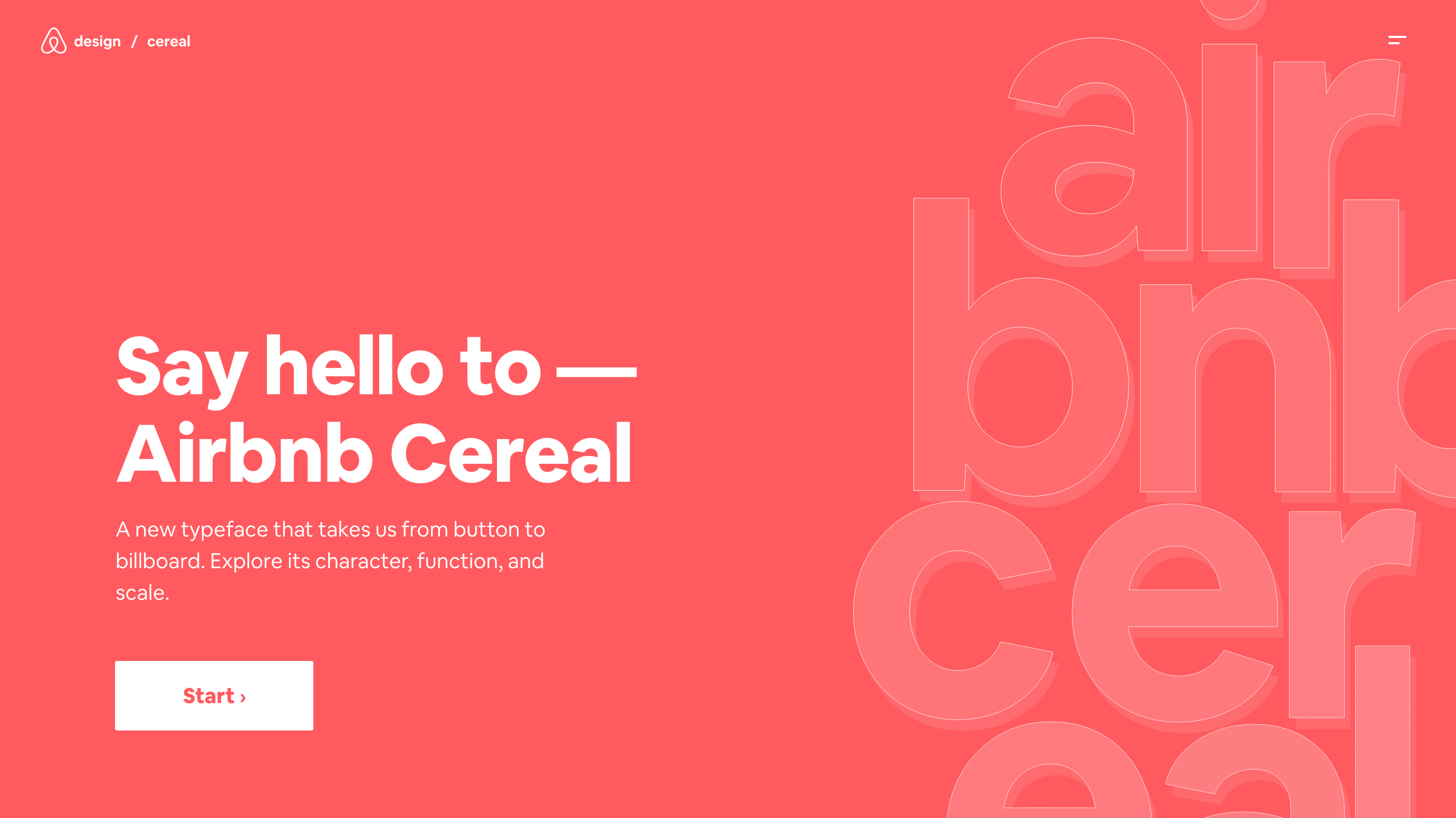 Working Type – Airbnb Design