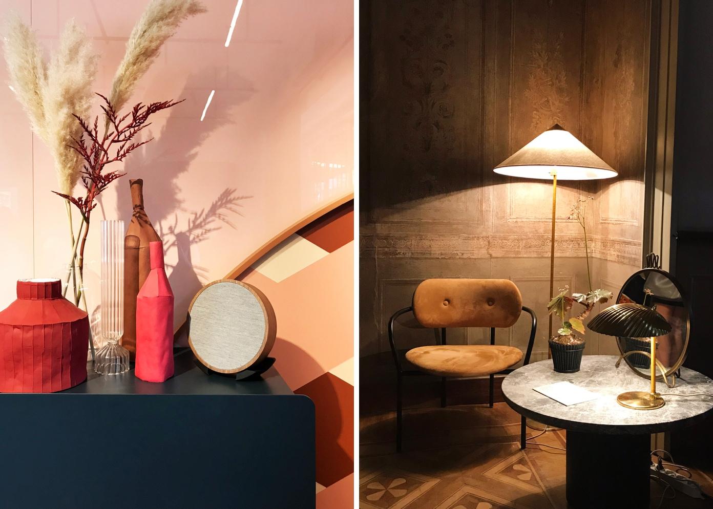 Interior design featuring furniture and various decor
