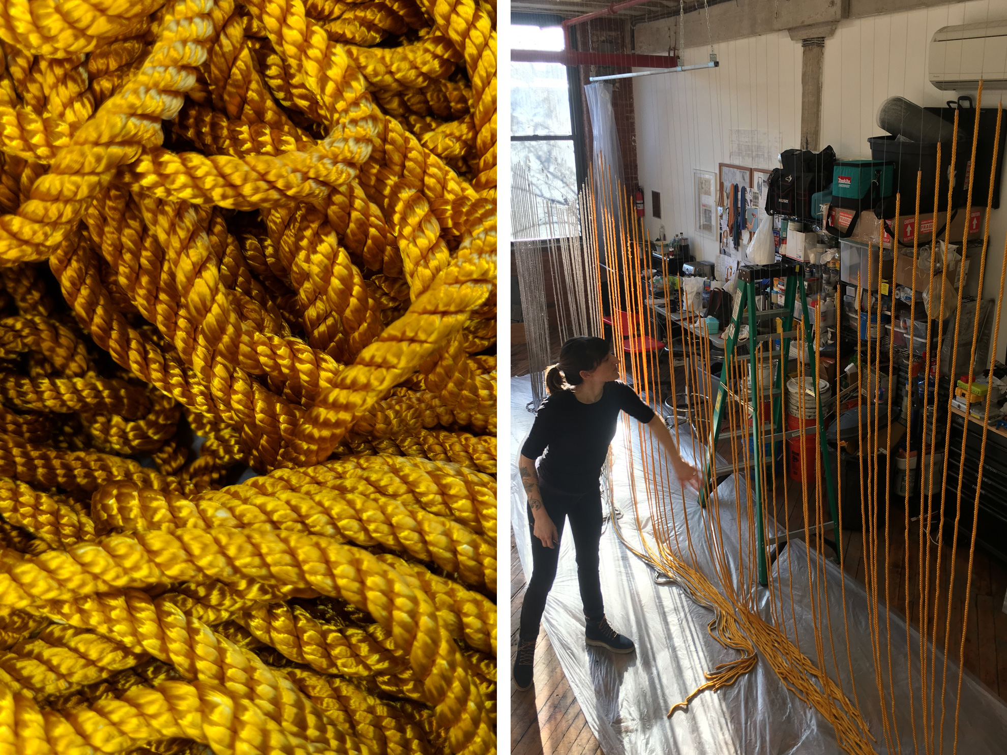 Rope artwork