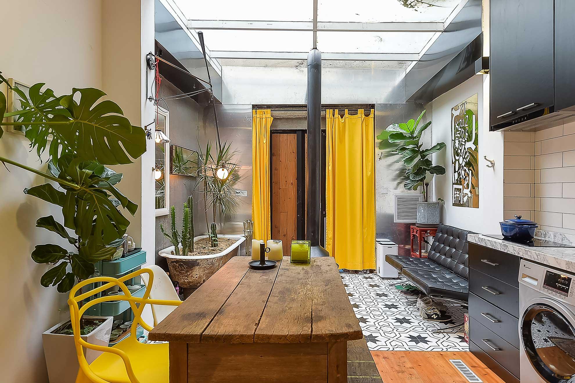 Airbnb listing interior